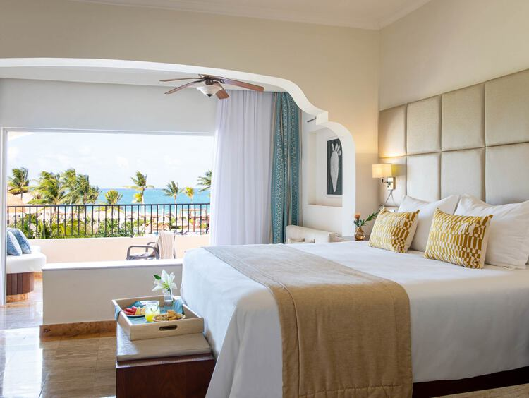 Luxurious Junior Suite Ocean View at Excellence Riviera Cancun