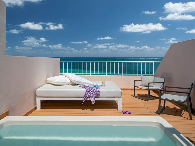 Excellence Riviera Cancun Ocean View Rooftop Terrace Suite
