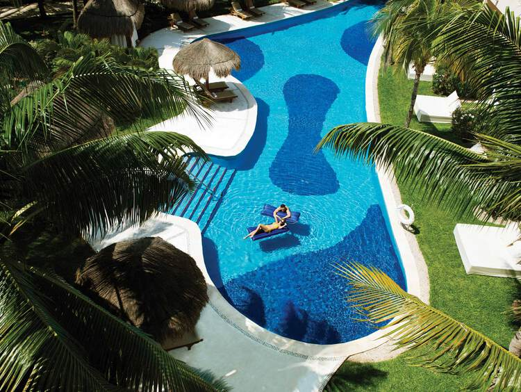 Swim-Up Suites en Excellence Riviera Cancún