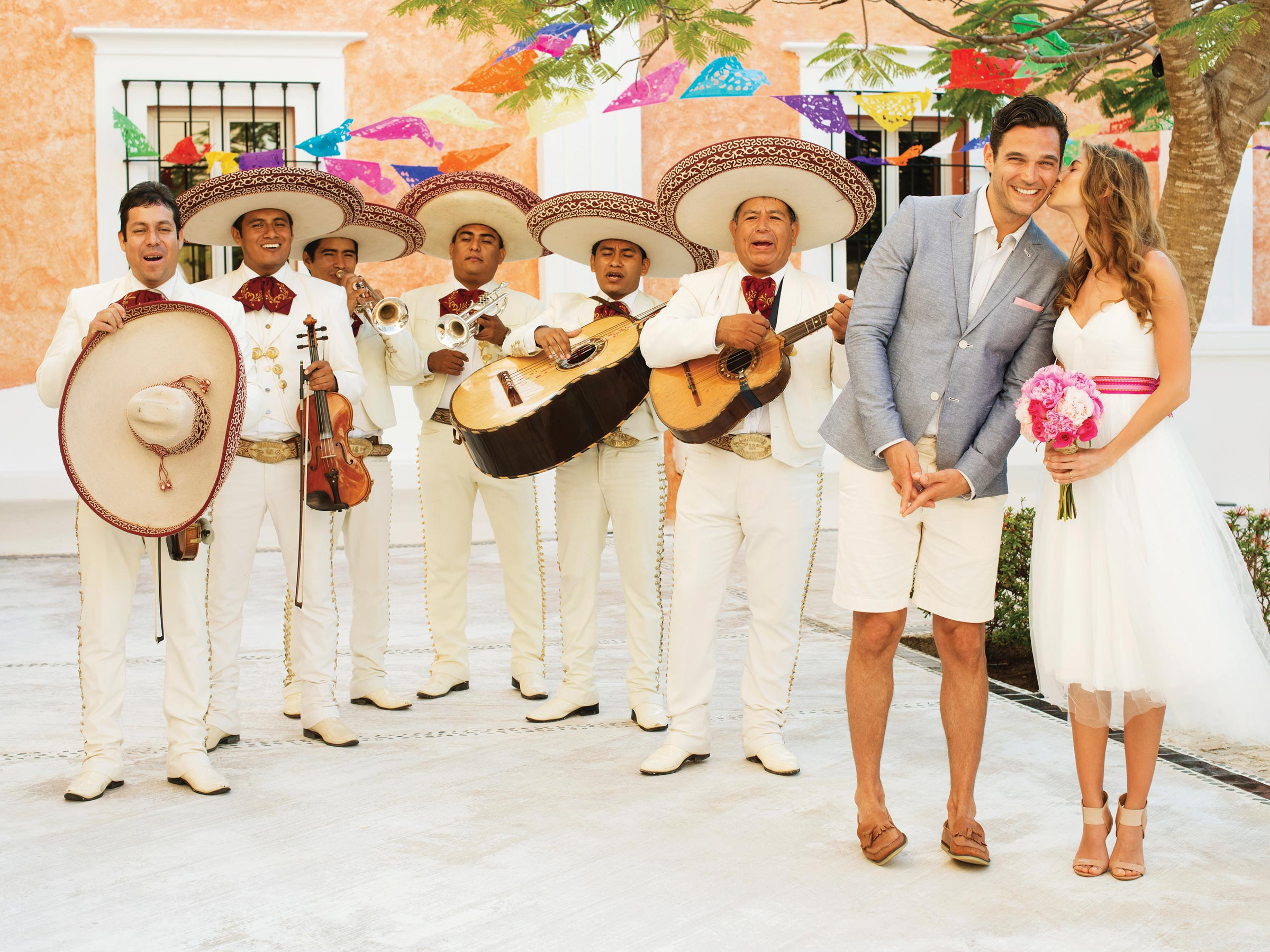 Riviera Maya Destination Wedding with a Mariachi Band