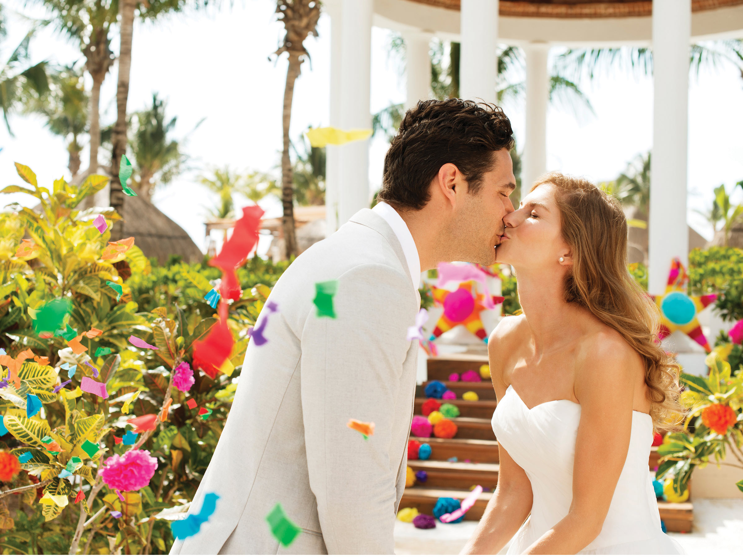 Mexican Wedding at a Riviera Maya Resort for Adults Only