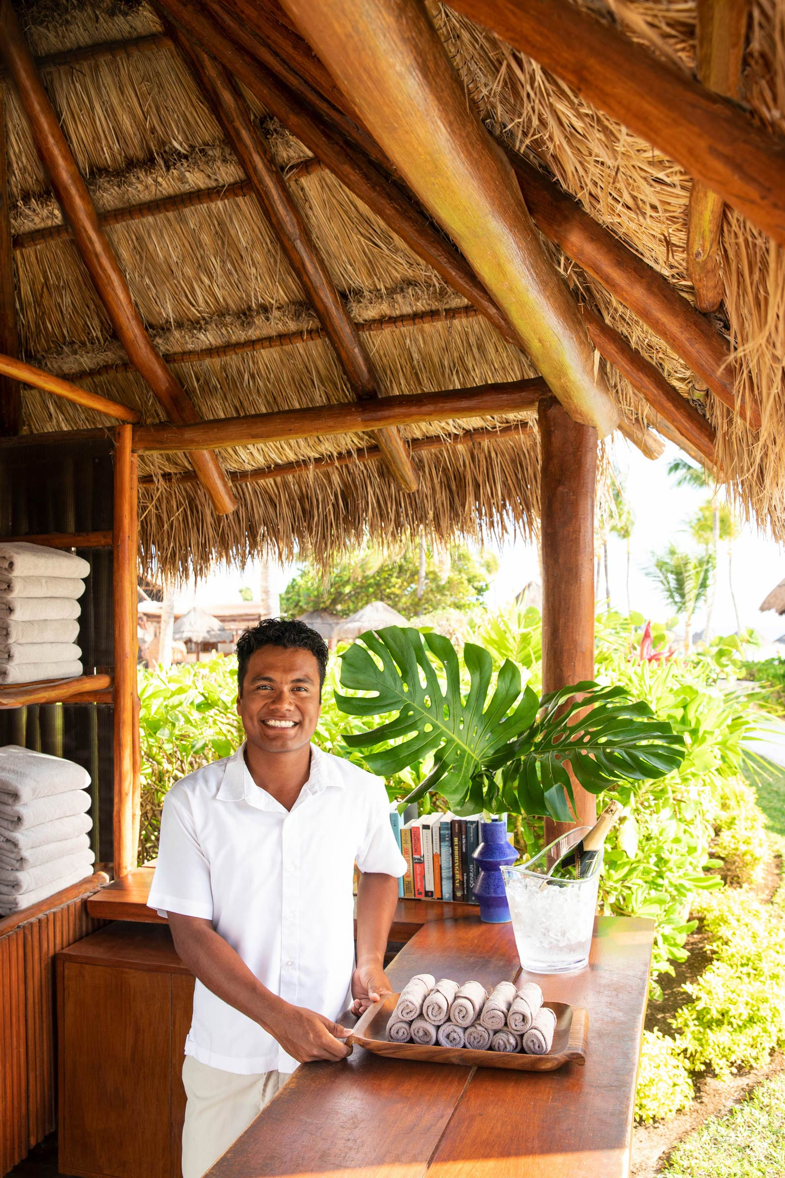 Luxury Beach Hotel Concierge in the Riviera Maya