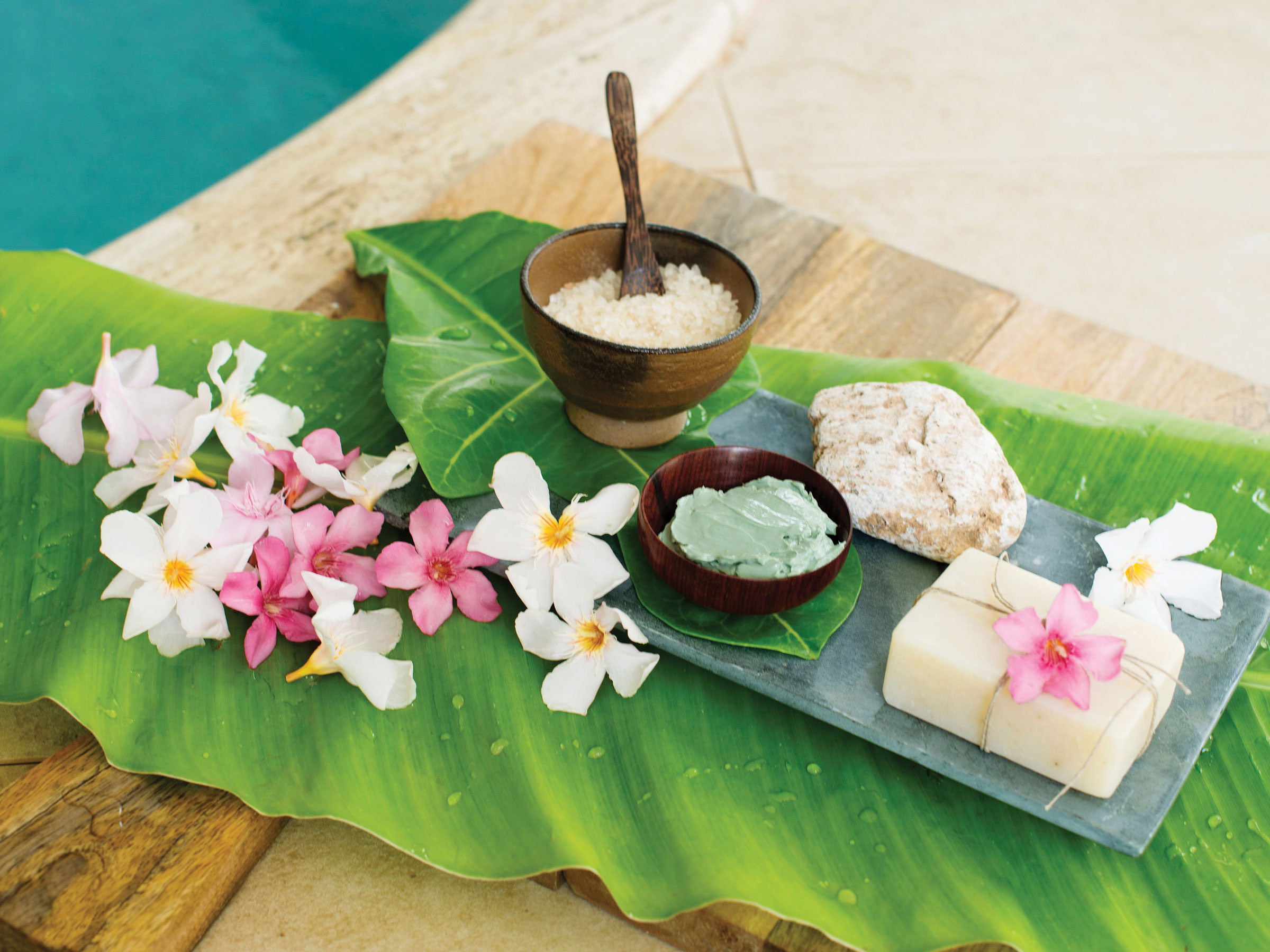 Spa Treatment Ingredients